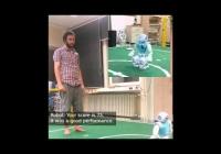 Yaşlılar için egzersiz robotu: Bu robot, yaşlı kişilere günlük egzersiz hareketlerinde yardımcı olarak yaşam kalitelerini artırıyor.